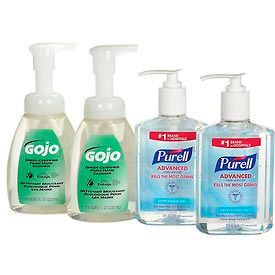 Purell/GOJO Hand Sanitizer & Foam Hand Soap Kit - 9652-SS-EC