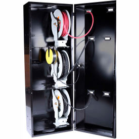 "JohnDow Industries JDI-SC1 Smart Cabinet™ 28""x20""x80"" Hose/Cord Reel Storage Cabinet"