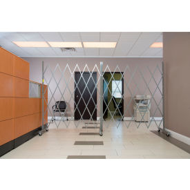 """Illinois Engineered Products XLECO665, Eco Gate™ Expandable Portable Gate, 6'W & 6'6""""H"""