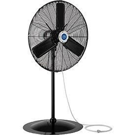 Outdoor Misting Oscillating Pedestal Fan, 30 Inch Diameter, 3/10 HP 8,400 CFM