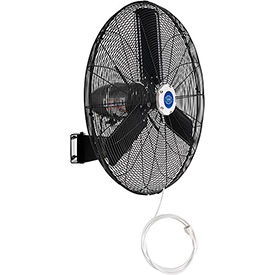 Outdoor Misting Oscillating Wall Mounted Fan, 30 In. Diameter, 3/10 HP, 8,400 CFM