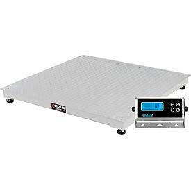"Global Industrial ™ Pallet Scale 48"" x 48"" 10,000 lb x 1 lb"