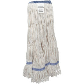 Global Industrial™ Medium Blend Looped Mop Head, Narrow Band
