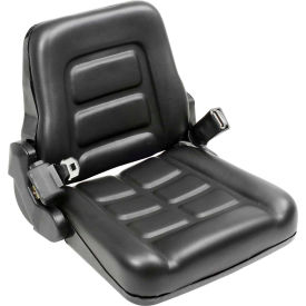 Best Value Vinyl Forklift Truck Seat with Seat Belt