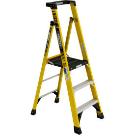 Werner 3' Type 1AA Fiberglass Podium Ladder - PD7303