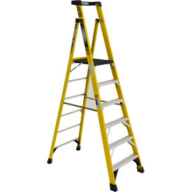 Werner 6' Type 1AA Fiberglass Podium Ladder - PD7306