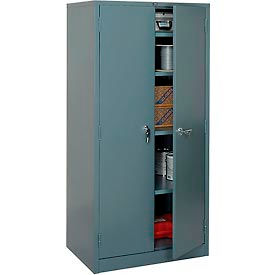 Global™ Storage Cabinet Easy Assembly 36x24x78 Gray