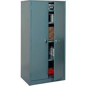 Global™ Storage Cabinet Assembled 36x24x78 Gray