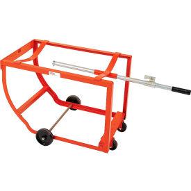 Modern Equipment MECO DSP-H Rock-It Drum Cradle Polyolefin Casters 1000 Lb.