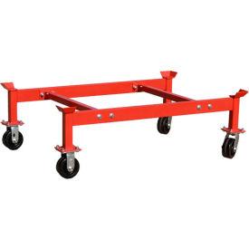 Modern Equipment MECO PS-2DR Cart for PDR2 & PDR2-KD 2 Drum Racks 1800 Lb.