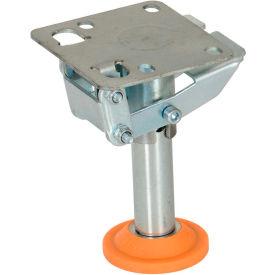 "Vestil Floor Lock with Polyurethane Foot Pad FL-LKL-5 for 5"" Casters"