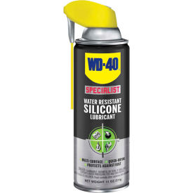 WD-40® Specialist® Water Resistant Silicone Lubricant - 11 oz. Aerosol Can - 300012 - Pkg Qty 6