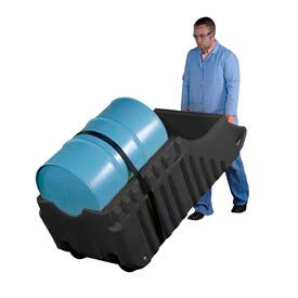 Mobile Spill Containment Dispensing Caddy