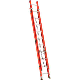 Louisville Type 1A 20' Lightweight Fiberglass Extension Ladder - L-3025-20
