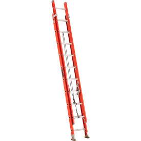 Louisville Type 1A 20' Lightweight Fiberglass Extension Ladder - L-3025-20