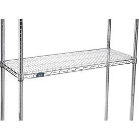 "Shelf Liner - Heavy Duty 1/16"" Clear Acrylic 48 x 18 - Pkg Qty 2"