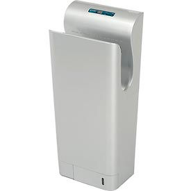Global Industrial™ High Velocity Vertical Hand Dryer - Silver