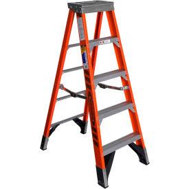Werner 5' Type 1AA Fiberglass Step Ladder 375 lb. Cap - 7405