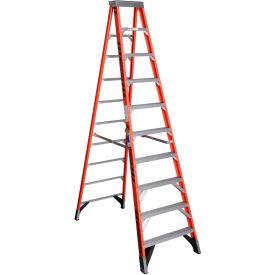 Werner 10' Type 1AA Fiberglass Step Ladder 375 lb. Cap - 7410