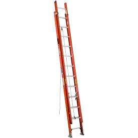 Werner 24' Type 1A Lightweight Fiberglass Extension Ladder 300 lb. Cap - D6424-2