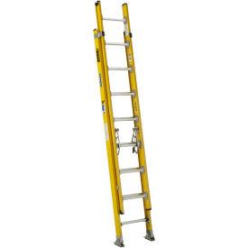 Werner 16' Type 1AA Lightweight Fiberglass Extension Ladder 375 lb. Cap - D7216-2