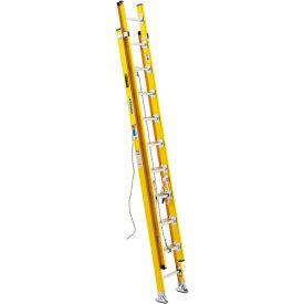 Werner 20' Type 1AA Lightweight Fiberglass Extension Ladder 375 lb. Cap - D7220-2