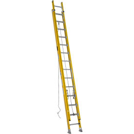Werner 28' Type 1AA Lightweight Fiberglass Extension Ladder 375 lb. Cap - D7228-2