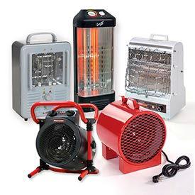 Radiant & Fan Forced Portable Heaters