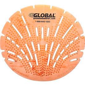 Global Industrial™ Urinal Screen - Citrus 10 Screens/Case