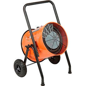 Salamander Heater – Portable Electric Fan Forced - 208V 15 KW 3 Phase 41.7 Amps