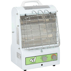 Portable Electric Space Heater - Catchers Mask Style 1500W 3 Speed W/Infrared & Convection Dual Heat