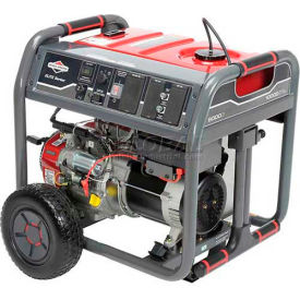 Briggs & Stratton 030664A, 8000 Watts, Portable Generator, Gasoline, Electric/Recoil Start, 120/240V