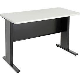 "48""W x 24""D x 30""H Work Desk - Black- 250 lbs. Weight Capacity"