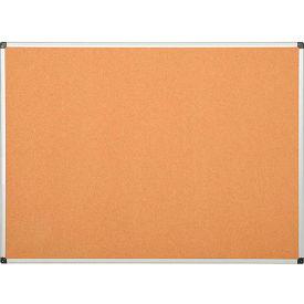 Cork Bulletin Board - 36 x 24 - Aluminum Frame