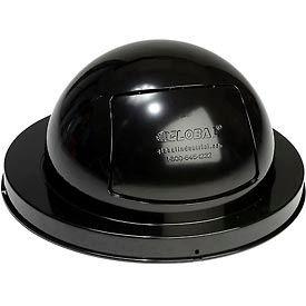 Global Industrial™ Steel Dome Top Lid - Black
