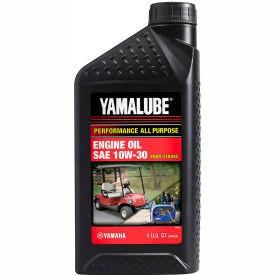 Yamaha LUB10W30 YAMALUBE® 10W-30 Oil, 1 Quart-32oz PERFORMANCE ALL-PURPOSE Engine Oil