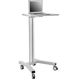 Mobile Height Adjustable Laptop Workstation