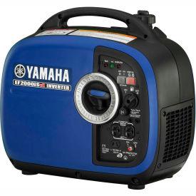Yamaha EF2000iSv2, 1600 Watts, Inverter Generator, Gasoline, Recoil Start, 120V