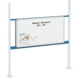 "Mounting Kit with 36""W Whiteboard for 48""W Workbench -Blue"
