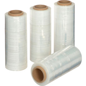 "Stretch Wrap Film 13"" x 1500' - 65 Gauge Clear For Hand Dispenser - Pkg Qty 4"