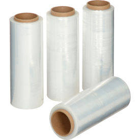 "Stretch Wrap Film 12.8"" x 1588' - 42 Gauge Clear For Hand Dispenser - Pkg Qty 4"
