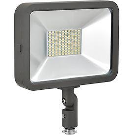 Global™ LED Flood Light, 50W, 4500 Lumens, 5000K, w/Knuckle Mount