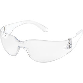 Global Industrial Safety Glasses, Scratch-Resistant, Clear Lens Color, 1 Each - Pkg Qty 12