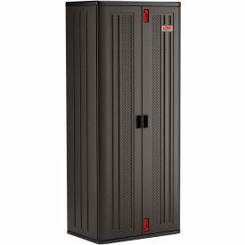 """Suncast Plastic Tall Storage Cabinet - 4 Shelf BMCCPD7204 - 30"""" W x 20-1/4"""" D x 72"""" H"""