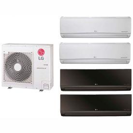 air conditioners multizone split air conditioners lg 36 000 btu quad zone mini split system. Black Bedroom Furniture Sets. Home Design Ideas