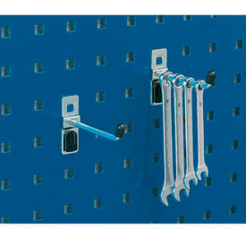 "Bott 14001104 Single Straight Hooks For Perfo Panels - Package of 5 - 3""L"