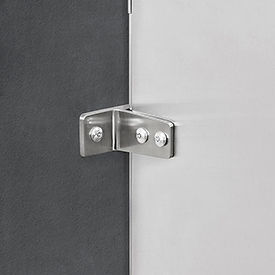 Global Industrial™ Urinal Screen Bracket Kit with Hardware