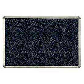 """Balt® Rubber-Tak Tackboard Euro trim 36""""W x 24""""H Blue"""