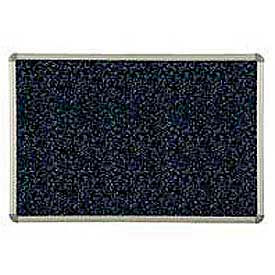 """Balt® Rubber-Tak Tackboard Euro trim 48""""W x 36""""H Blue"""