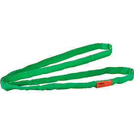 Global Industrial™Polyester Round Sling, Endless, 6 ft x 1.25 in, 5300/4200/10600 Lbs Cap